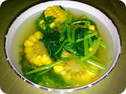 resep-sayur-bening-jagung-muda-banyumas