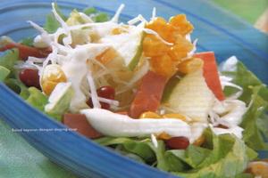 resep-salad-sayuran-dengan-daging-asap