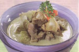 resep-sayur-keluwih-ampela-ayam