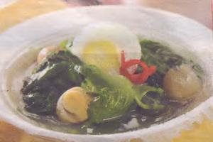 resep-sup-bayam-jamur-telur-puyuh