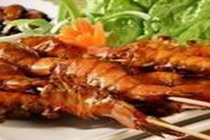 resep-sate-udang-thailand-dengan-saus-kacang