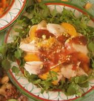 resep-salad-kalkun-saus-cranberry