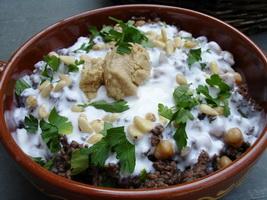 resep-fateh-humus-bil-labneh