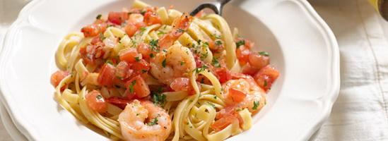 resep-fetuccini-prawn-tomato-sauce