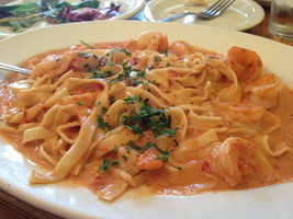 resep-fettuccini-saus-udang-tomat