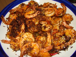 resep-butter-prawn-malaysian-style