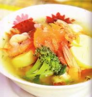 resep-sup-tofu-udang-sayuran