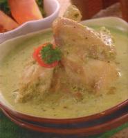 resep-ayam-masak-hijau