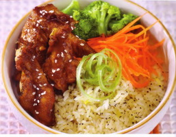 resep-black-pepper-rice-with-chicken-teriyaki