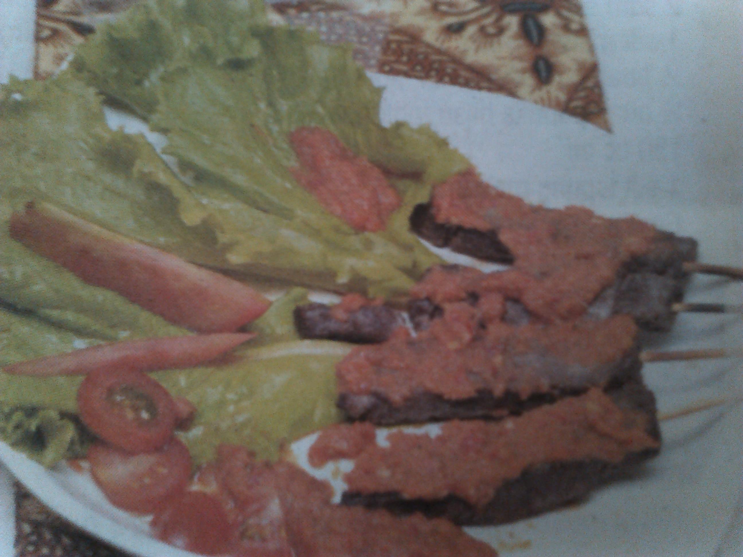 resep-sate-daging-saus-kecombrang